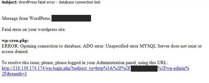 wordpress-phishing-email