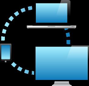 smart-phone-laptop-tv-network